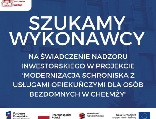 Wynik rozeznania rynku: Nadzór inwestorski dla inwestycji w Chełmży (1/6.1.2/2021)